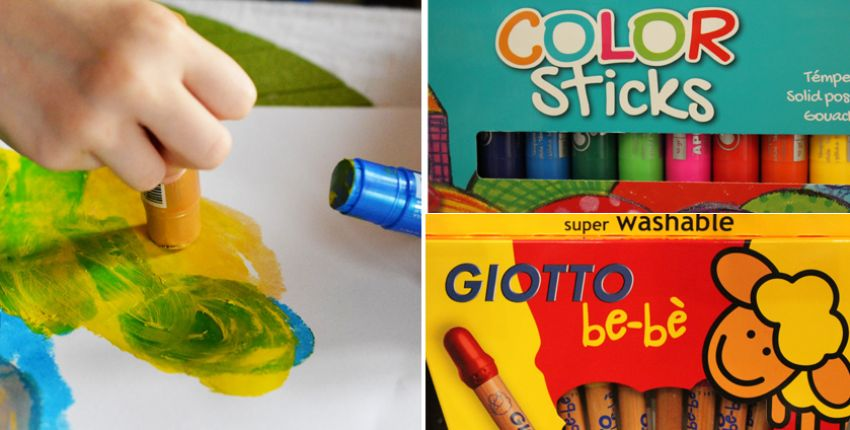 """Color sticks"" et crayons"